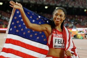 How sprinter Allyson Felix stays motivated for Olympics