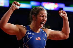 Adeline Gray: Will U.S. women's wrestler win gold?