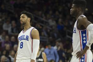 76ers to consider trades for Okafor, Noel