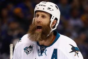 Joe Thornton on his beard: 'It looks pretty, but it's h...