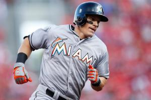 Derek Dietrich struck in head by foul ball in dugout