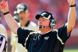 Baylor names Jim Grobe interim head coach