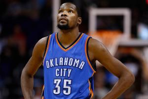 Kevin Durant says he hasn't thought about free agency