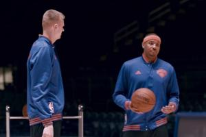 Kobe, Carmelo, Porzingis star in Ghostbusters commercial