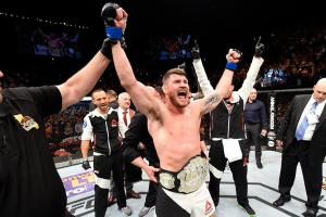 Bisping defeats Rockhold in upset at UFC 199