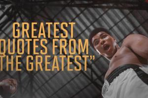 Muhammad Ali's greatest quotes