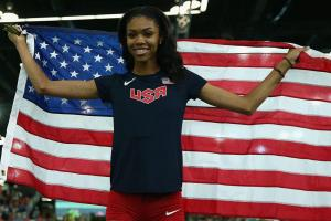 Get to know Olympian Vashti Cunningham