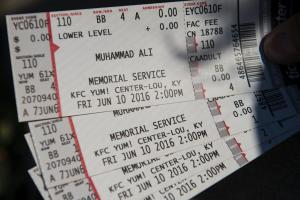 Muhammad Ali memorial service tickets sell out