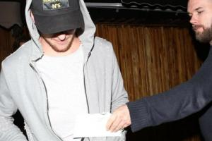 Johnny Manziel served with legal papers outside of club