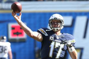 Can Philip Rivers change diapers as well as he throws f...