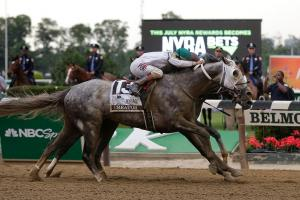 Creator wins 148th Belmont Stakes in photo finish