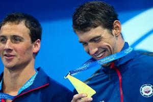 Ryan Lochte: Rivalry with Michael Phelps among the best