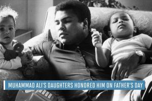Muhammad Ali's daughters honor him on Father's Day