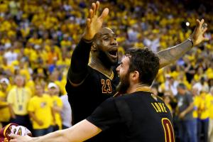 LeBron James leads Cavaliers to first NBA title