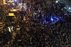 Cavaliers fans take to streets of Cleveland to celebrat...