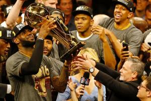Did league help Cavaliers win title?