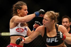 Miesha Tate on Ronda Rousey: She seems pouty