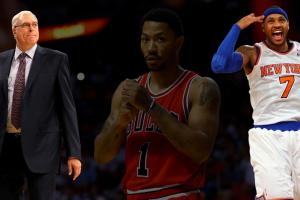 Phil Jackson: Derrick Rose trade 'reinvigorating' M...