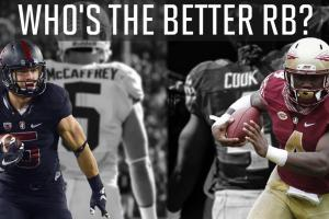 Better 2016: Christian McCaffrey or Dalvin Cook?