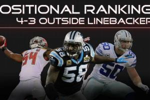 Ranking the best 4-3 outside linebackers