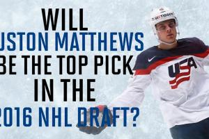 Auston Matthews could be the next big thing in the NHL