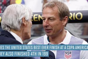 U.S. finishes fourth at Copa America