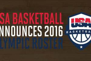 USA basketball announces roster for 2016 Olympics