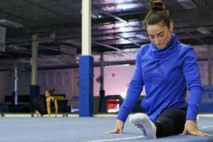 Aly Raisman is grinding her way to Rio