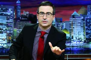 John Oliver takes aim at Olympic doping