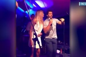 Russell Wilson shows off his 'vocals' for charity