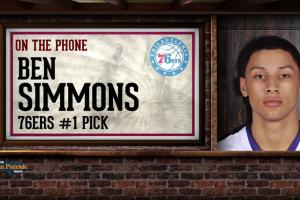 Ben Simmons: Looking forward to matching up against LeB...