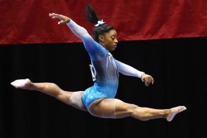 Simone Biles has two gold medalist fans