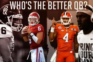 Better 2016: Deshaun Watson or Baker Mayfield?