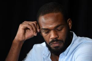 Watch: Jones becomes emotional at presser