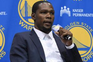 Kevin Durant: Going to Warriors 'best decision for me
