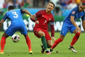 Cristiano Ronaldo knocked out of Euro 2016 final