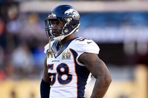 Von Miller says he won't sign franchise tag