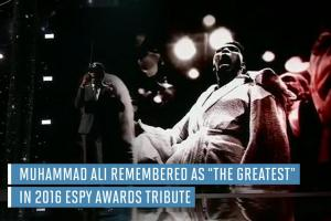 Muhammad Ali honored with musical tribute at 2016 ESPYs