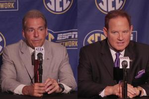 Les Miles, Nick Saban spat sparks all-time SEC quote