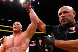 How Brock Lesner boosts MMA