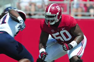 Alabama OL Alphonse Taylor arrested on DUI charge