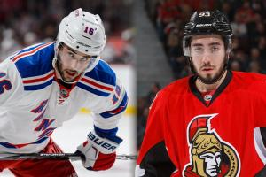 Rangers trade Brassard to Ottawa for Zibanejad