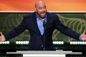 Dana White praises Donald Trump at the RNC