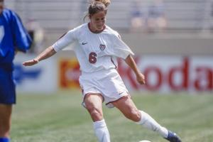 Find out what Brandi Chastain's favorite soccer memory...