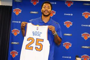 Derrick Rose: Knicks and Warriors are the superteams