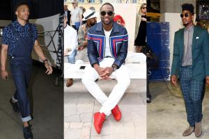 Athlete stylist Dex Robinson's favorite best dressed at...