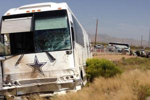 Dallas Cowboys bus involved in fatal Arizona crash