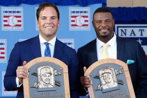 Did Mike Piazza or Ken Griffey Jr. have the better care...