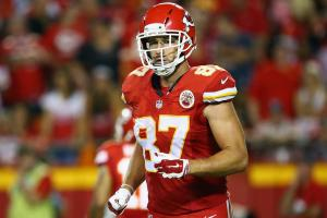 Travis Kelce isn't thrilled that Peyton Manning retired