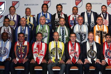 MLS coaches